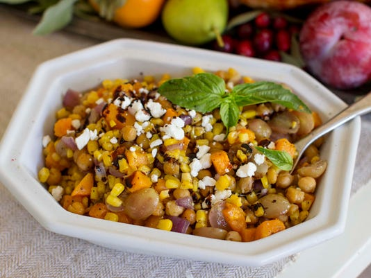 Food Thanksgiving Succotash