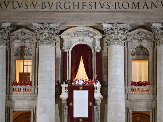 VATICAN-POPE-RELIGION-ANNIVERSARY-FILES