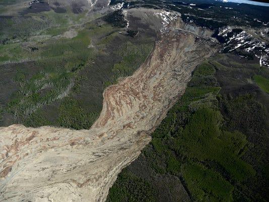 APTOPIX Colorado Mudslide