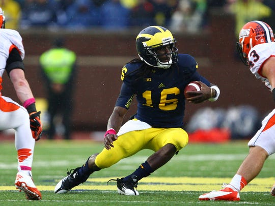 Denard Robinson delivered Michigan to the Sugar Bowl