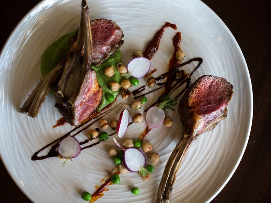 Moroccan spiced lamb by Chef Gio Osso.
