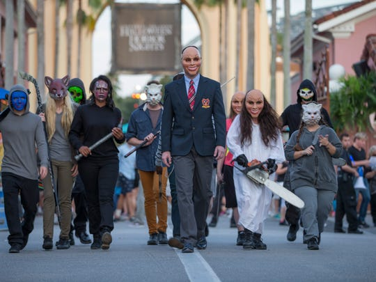 """The film """"The Purge: Anarchy"""" is just one of the inspirations"""