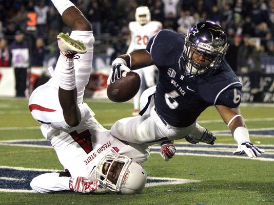 NCAA Football: Fresno State at Nevada
