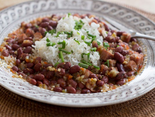 Food Healthy Red Beans and Rice
