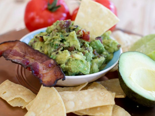 Maple-bacon guacamole changes up the regular.