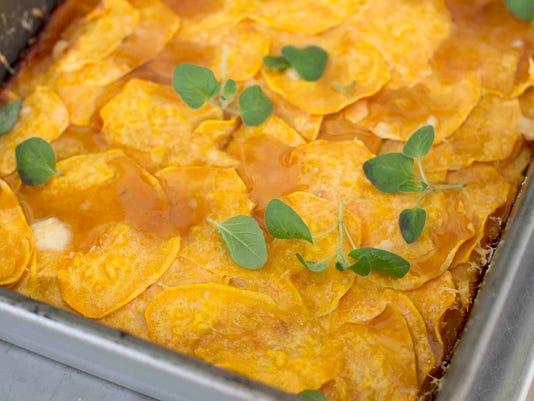 Food Deadline Sweet Potato Tart