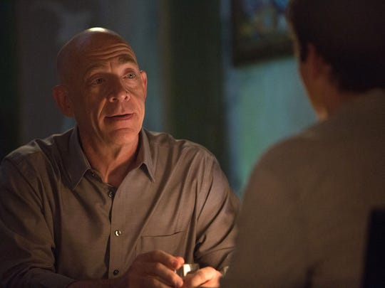"J.K. Simmons as Fletcher in a scene from the motion picture ""Whiplash."" CREDIT: Daniel McFadden, Sony Pictures Classics [Via MerlinFTP Drop]"