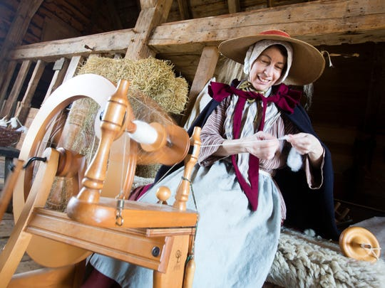 Philipsburg Manor's 2015 Sheep-to-Shawl Festival takes place on April 18 and 19.