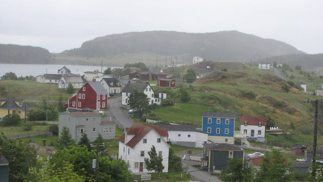 Kind of dreary: Newfoundland is a lovely place, but this summer has been plagued with rain, drizzle and fog, known by locals as RDF.
