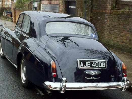 39 fifth beatle 39 brian epstein 39 s bentley at aucton. Black Bedroom Furniture Sets. Home Design Ideas