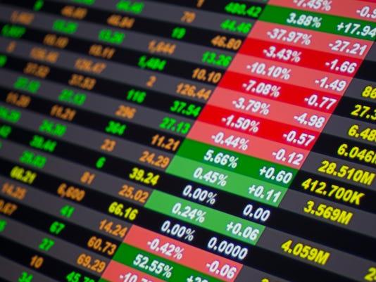 Stock market 105100291