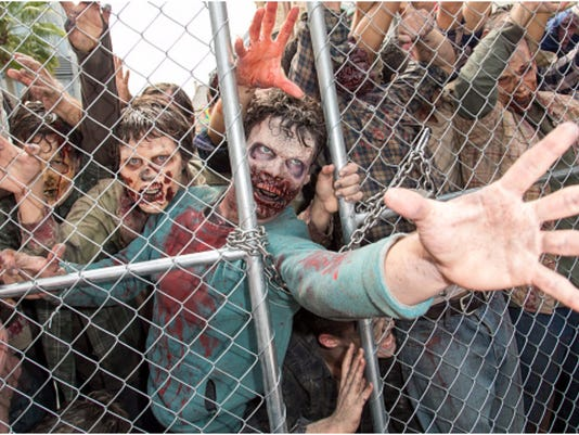 Do you think you have what it takes to survive a zombie apocalypse? It's harder than you might think. Experts say most have no chance. Credit: Getty Images