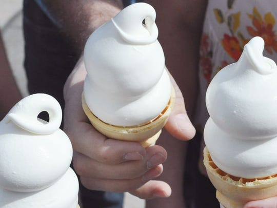 Dairy Queen is giving out free vanilla ice cream cones for the start of spring on March 20. Credit: CONTRIBUTED PHOTO FROM DAIRY QUEEN