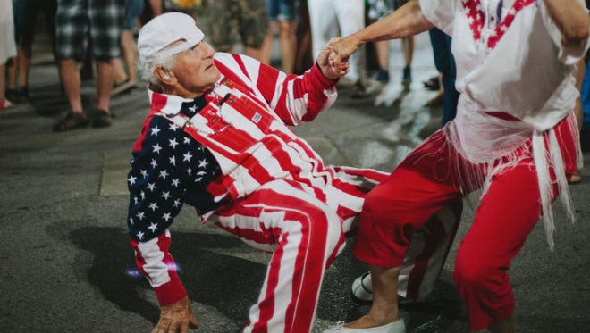 John Kirsch, who was known for busting a move at events around Des Moines like 80/35 and the Iowa State Fair, has died.