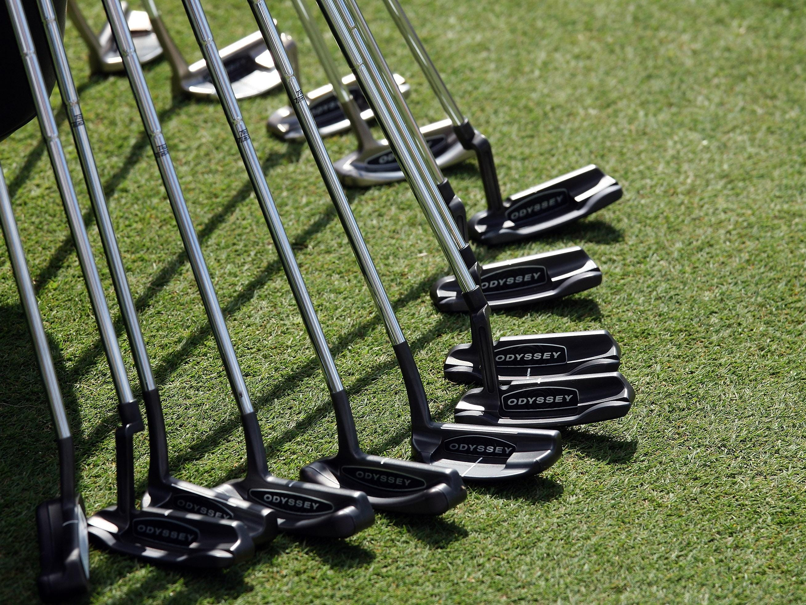 An array of putters