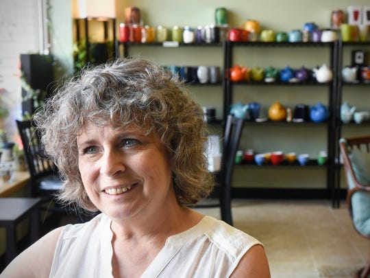 Owner Terri Emmerich smiles while talking about her