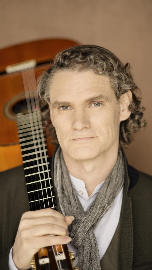 """JESSE COOK —The award-winning guitarist's recent album, """"One World,"""" debuted at No. 1 on the U.S. World Music Chart. See him at 7 p.m. Oct. 10."""