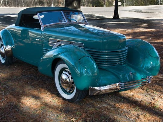 This 1937 Cord 812 Cabriolet will be auctioned at no