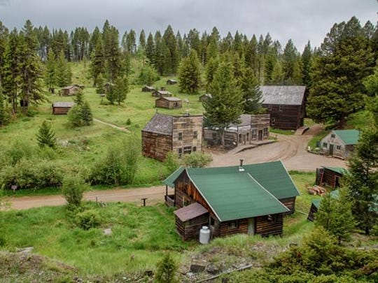 Situated in the mountains east of Missoula, Garnet burst into existence as a mining town in the 1870s.