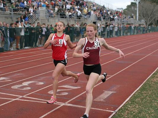 Chiles Lily Williams finish