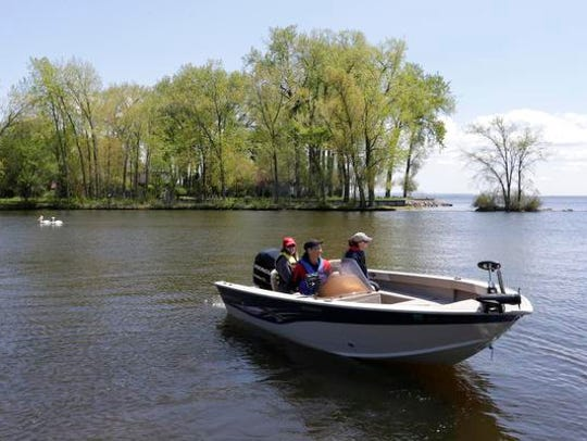 Boaters on Lake Winnebago have an interest in summer water levels.