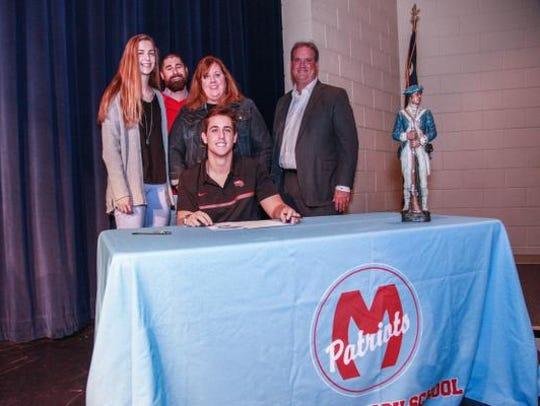 Ben Reeder will attend Western Kentucky University.