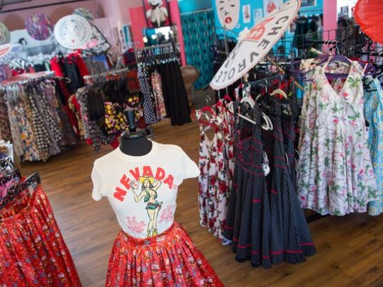 In Midtown for nearly five years, Dressed Like That! sells '50s inspired pin-up and rockabilly fashion.