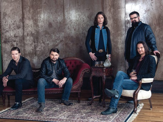 Home Free: The all-vocal country sensation brings Nashville