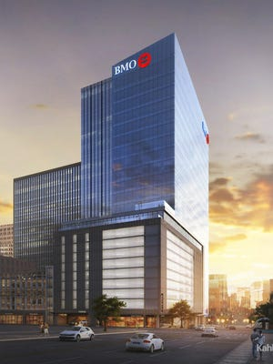 Downtown Milwaukee's 25-story BMO Tower will open in two years and be anchored by BMO Harris Bank's Wisconsin headquarters.