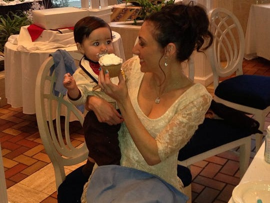 Dylan's first birthday was a monumental occasion for both of us.