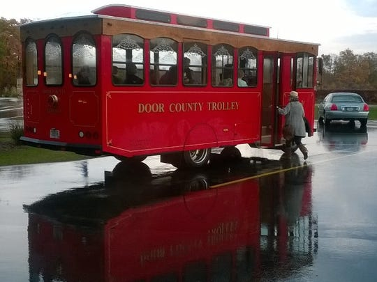 Door County Trolley offers themed trolley tours and private group tours, as well as wedding charters.