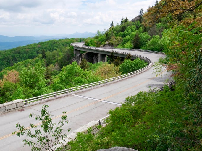 The Blue Ridge Parkway offers 469 miles of some of the most beautiful scenery in the eastern United States.