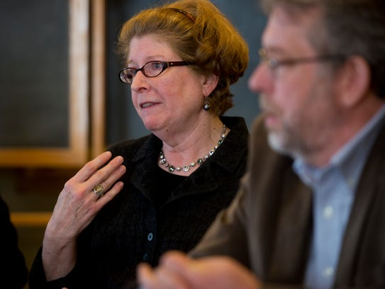Diane Snelling, photographed in 2013 as a state senator, oversees Act 250 land use regulation in Vermont as chairwoman of the Natural Resources Board.
