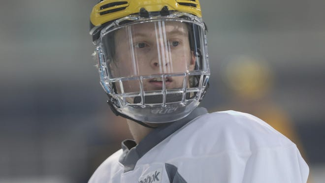 U-M freshman Kyle Connor leads the NCAA with 69 points.