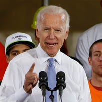 Trump counter-threatens Biden, says ex-veep would 'go down fast and hard'