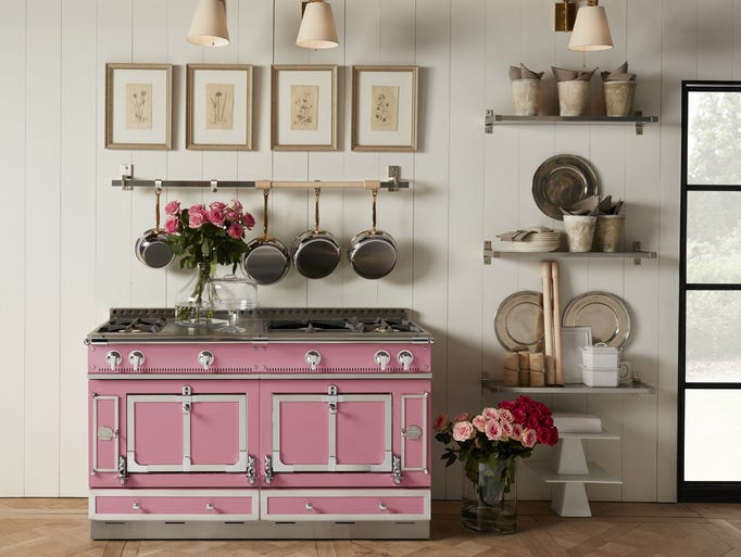 Pretty in pink: Designer Suzanne Kasler based her Couleur