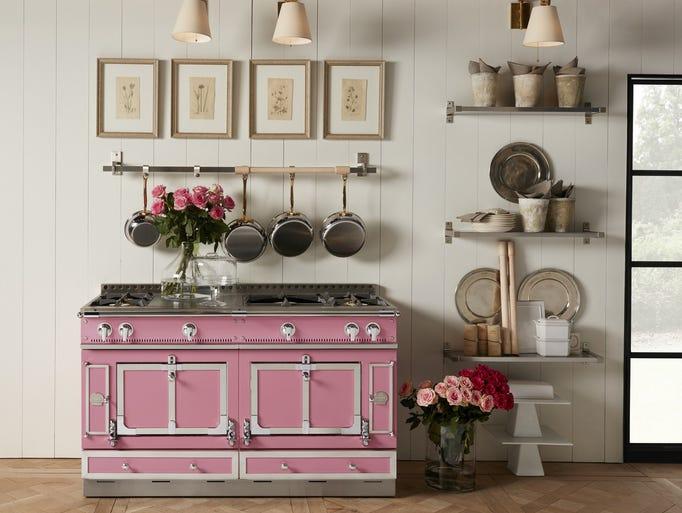 Pretty in pink: Designer Suzanne Kasler based her Couleur