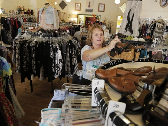 Wendy Wilke, owner of Frugal Fashion Consignment Boutique