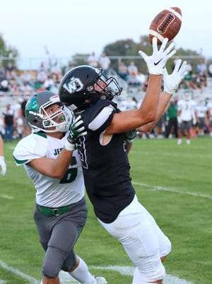 West Ottawa's Blake Bosma has been an explosive receiver for the Panthers the past couple of years.