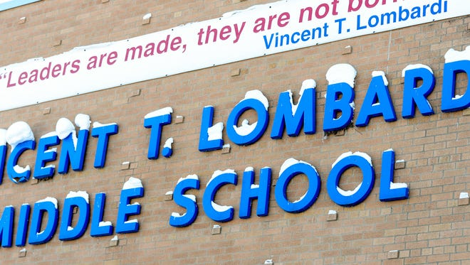 Green Bay's Lombardi Middle School.