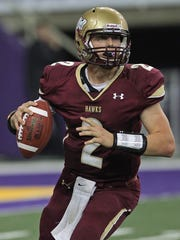Before he was a two-way legend at Iowa State, Joel Lanning was a gifted quarterback who led one of the state's best teams ever in the 2012 Ankeny squad.