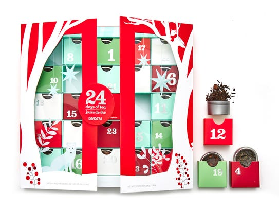 DAVIDsTea lets you reign in the holidays with 24 days
