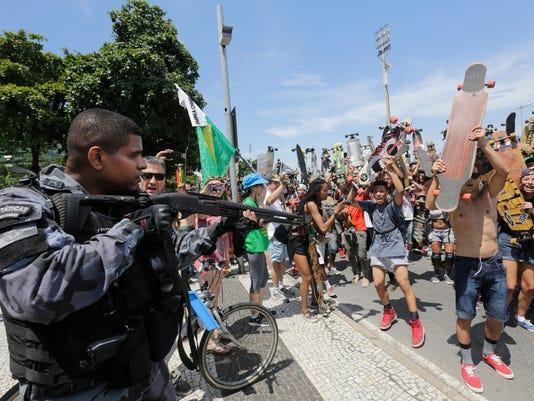 AP BRAZIL IMPEACHMENT PROTESTS I BRA