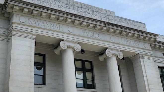 Live Oak Public Library on Bull Street, downtown.