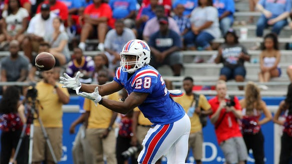 Louisiana Tech running back Kenneth Dixon won't start