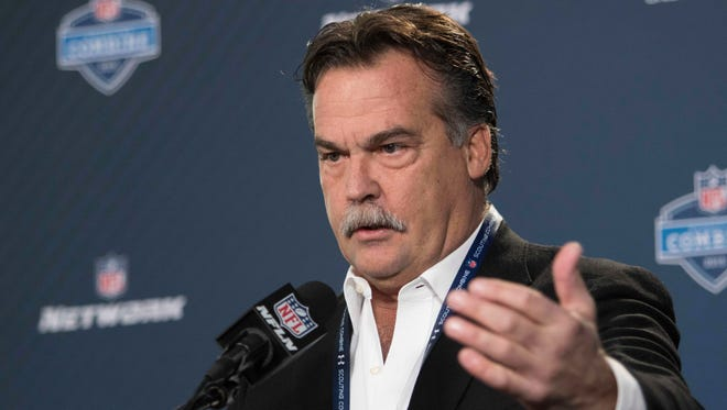 Jeff Fisher is entering his fourth season as the Rams' coach.