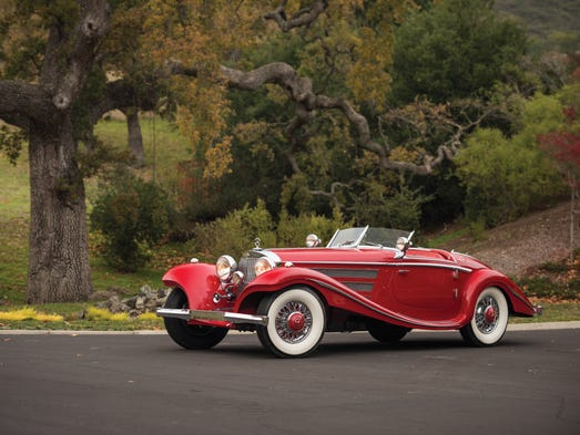 A rare 1937 Mercedes-Benz 540K Special Roadster is