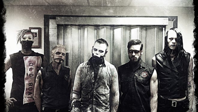 Combichrist performs today at Vinyl Music Hall.