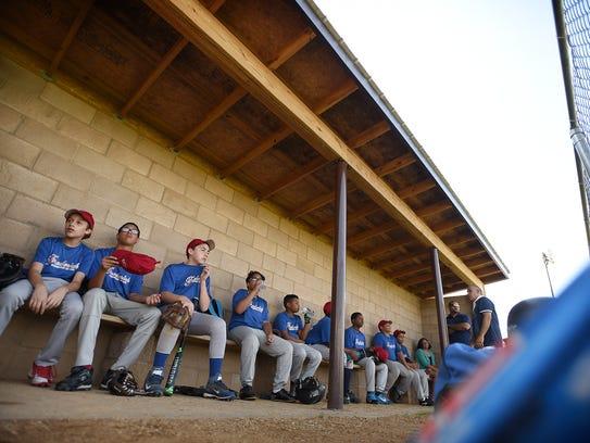 The Fredrick's team is part of the Lebanon Baseball