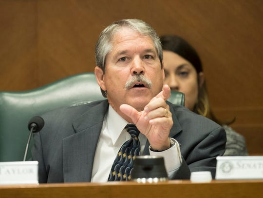 State Sen. Larry Taylor, R-Friendswood, chair of the
